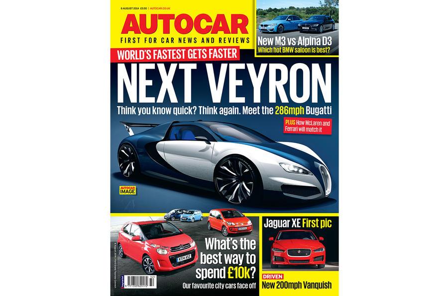 Autocar magazine preview 6 August