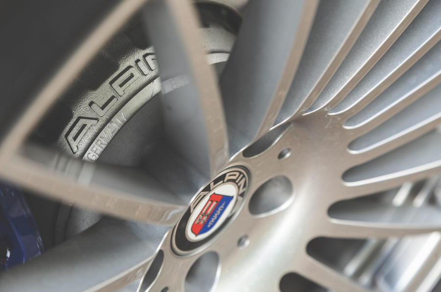 Alpina XD3 2019 UK road test review - brake discs