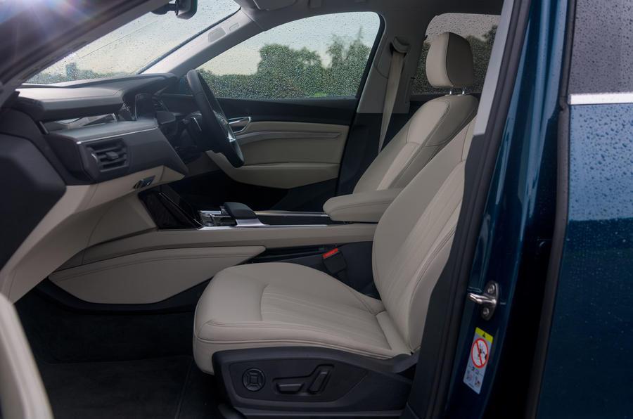 Audi E-tron 55 Quattro 2019 road test review - cabin