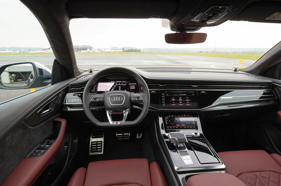 Audi SQ8 2019 road test review - cabin