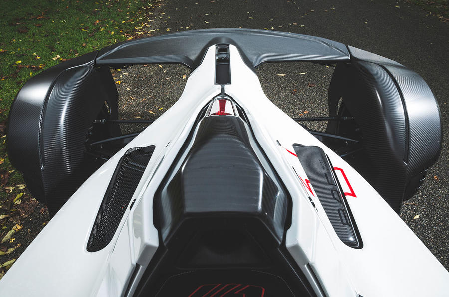 BAC Mono 2018 review - rear end