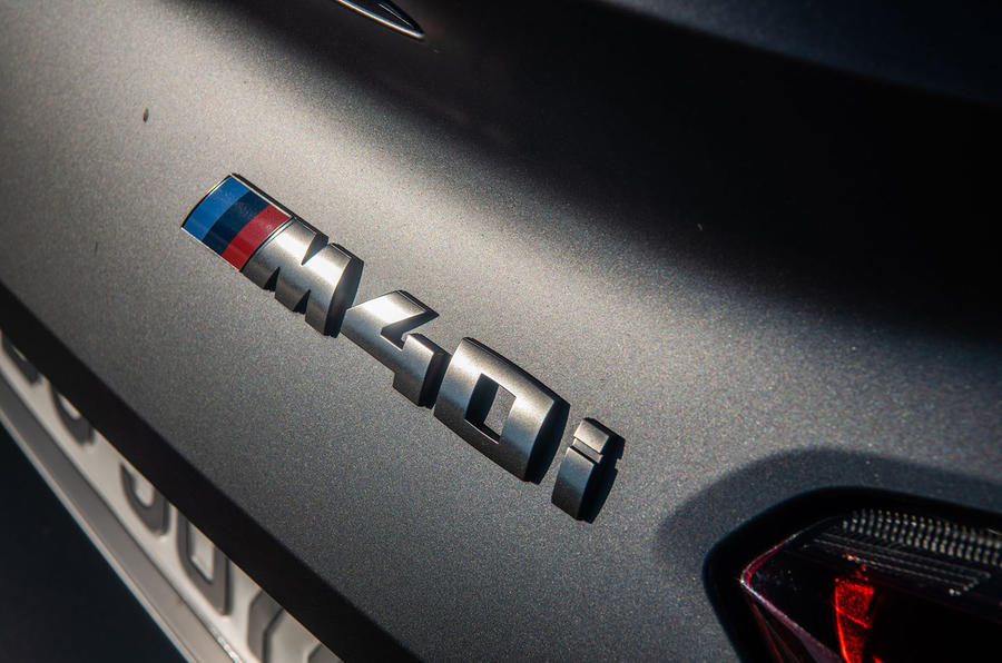 BMW Z4 2018 review - M40i badge
