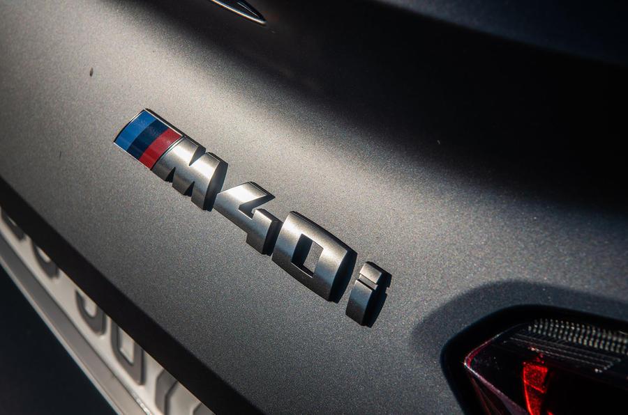 BMW Z4 2018 review - M40i badge