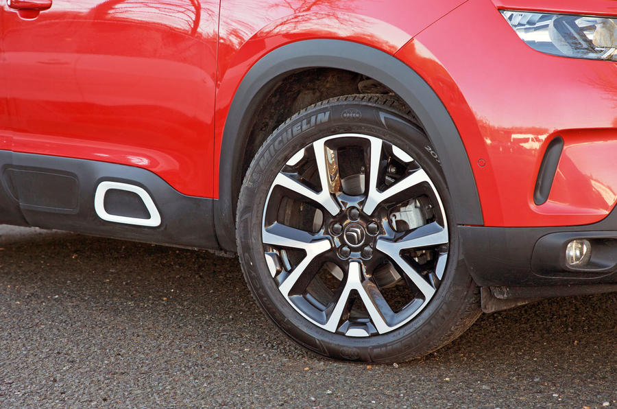 Citroen C5 Aircross 2019 road test review - alloy wheels