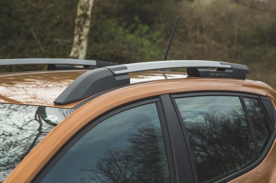7 Rails de toit Dacia Sandero Stepway 2021 RT
