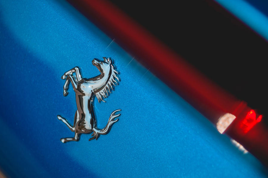 Ferrari F8 Tributo 2019 road test review - rear badge
