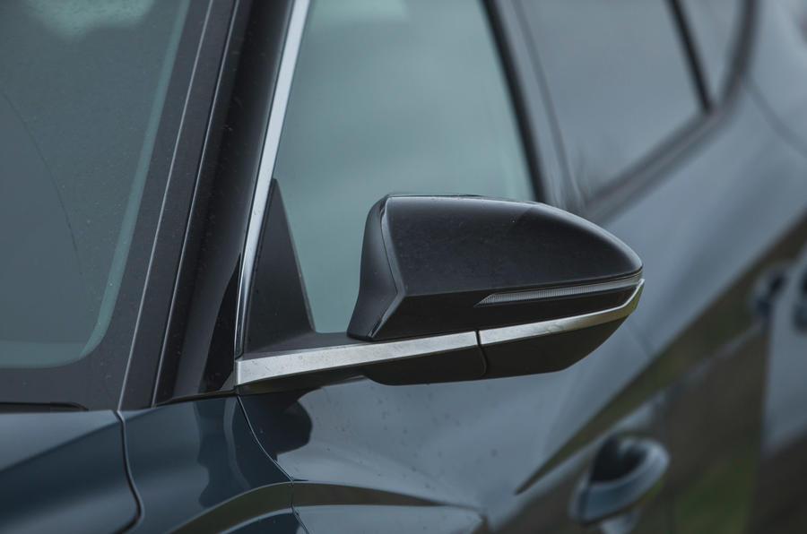 7 Hyundai Tucson 2021 : essai routier des rétroviseurs extérieurs