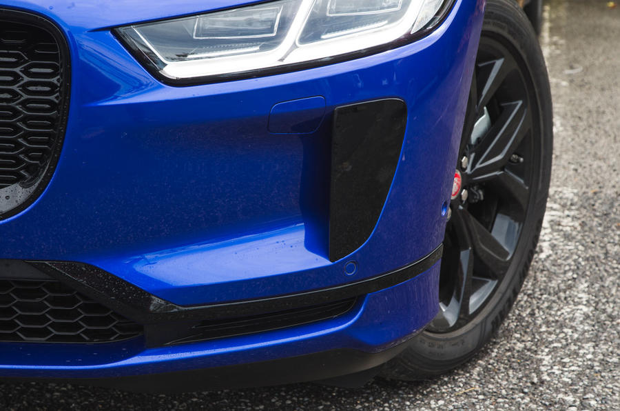 Jaguar I-Pace 2018 road test review front bumper