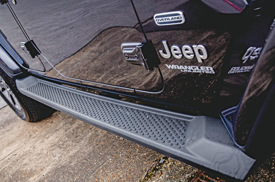 Jeep Wrangler 2019 road test review - side sills