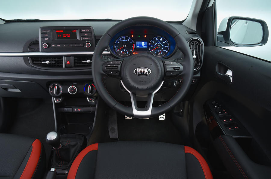 Kia Picanto review dashboard