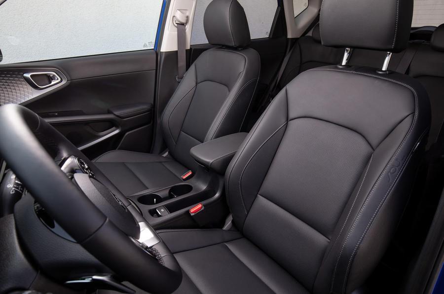 Kia Soul EV 2019 European first drive - cabin