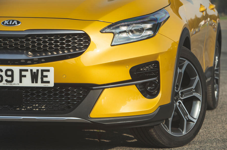 Kia Xceed 2019 road test review - front bumper