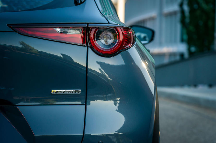 Mazda CX-30 2019 road test review - rear lights