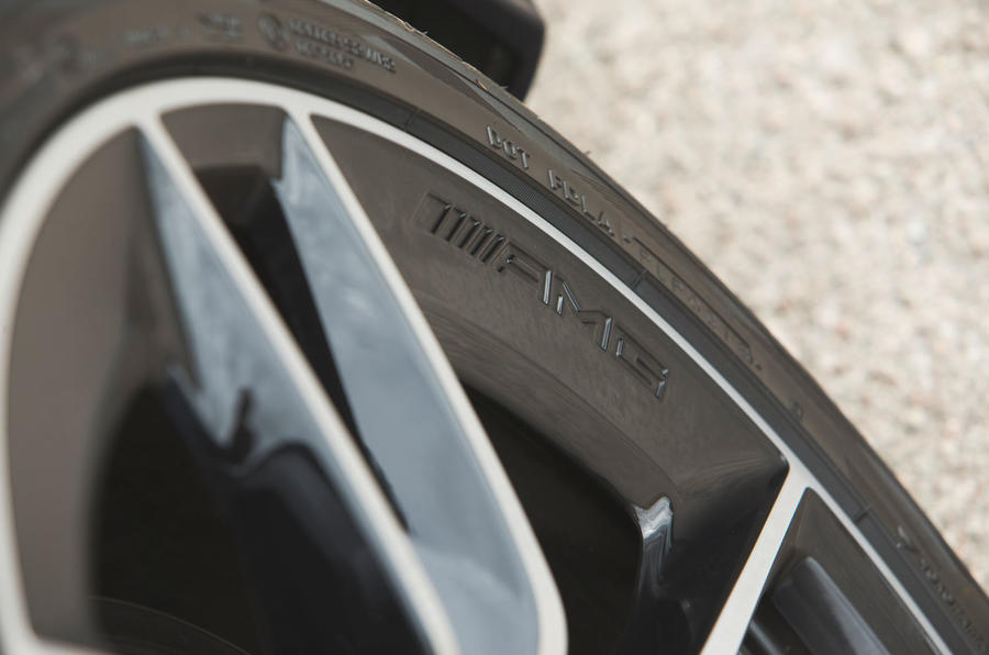 Mercedes-AMG CLS 53 2018 road test review - alloy wheels