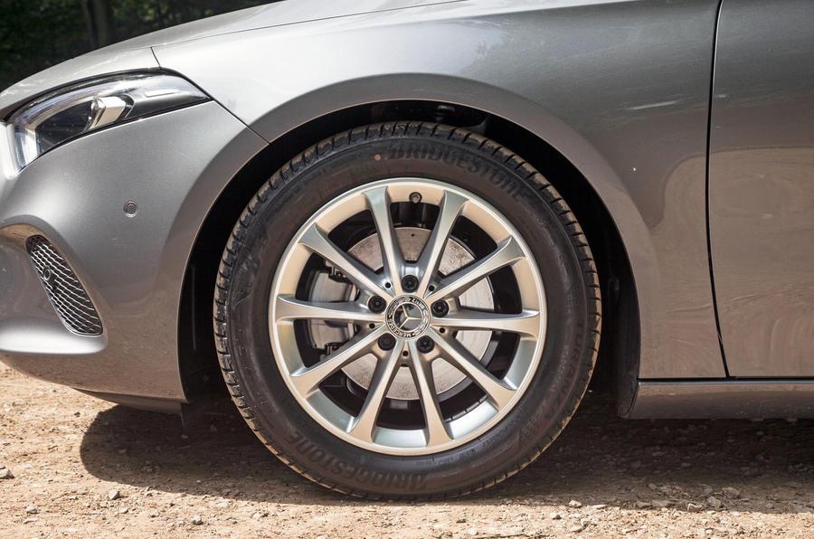 Mercedes-Benz A-Class 2018 road test review alloy wheels
