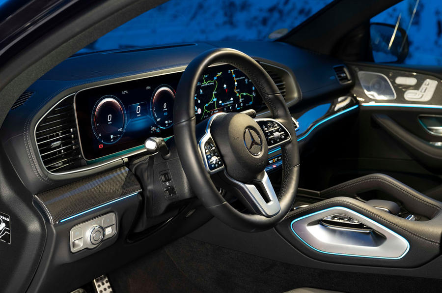 Mercedes-Benz GLE Coupe 2020 road test review - dashboard