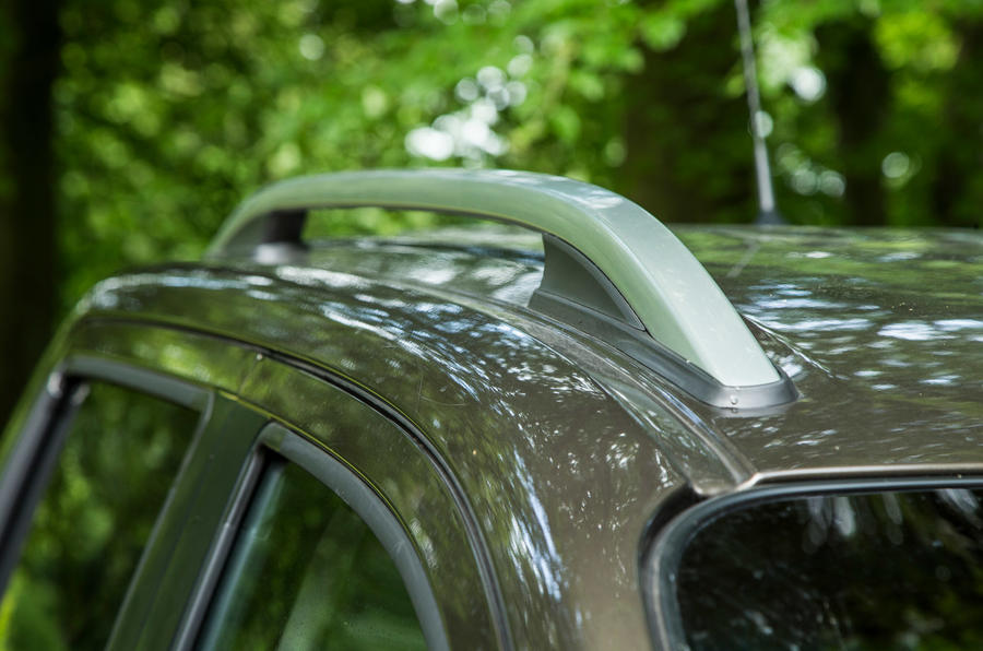 Mercedes-Benz X-Class road test review roof bars
