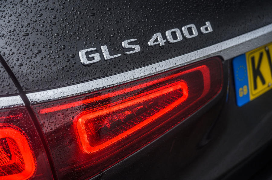 Mercedes-Benz GLS 2020 road test review - rear lights