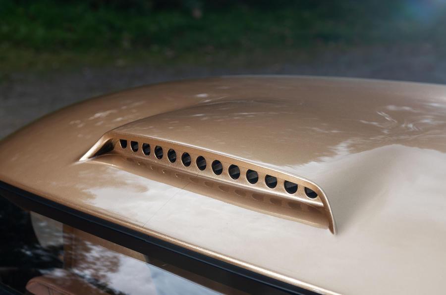 Morgan Aero GT 2018 review - roof scoop