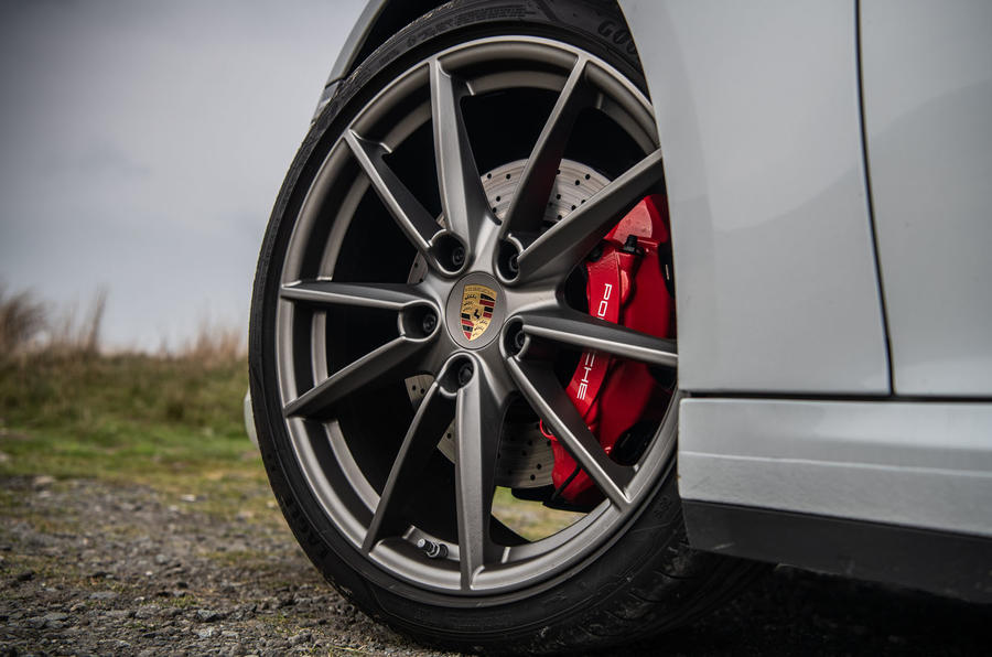 Porsche 911 Carrera S 2019 road test review - alloy wheels