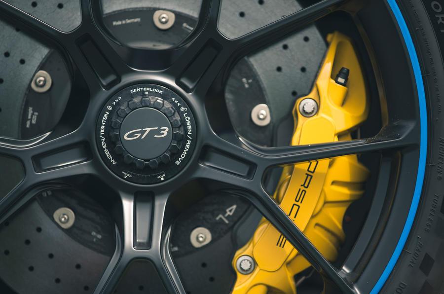 7 Étriers de frein de la Porsche 911 GT3 2021 RT