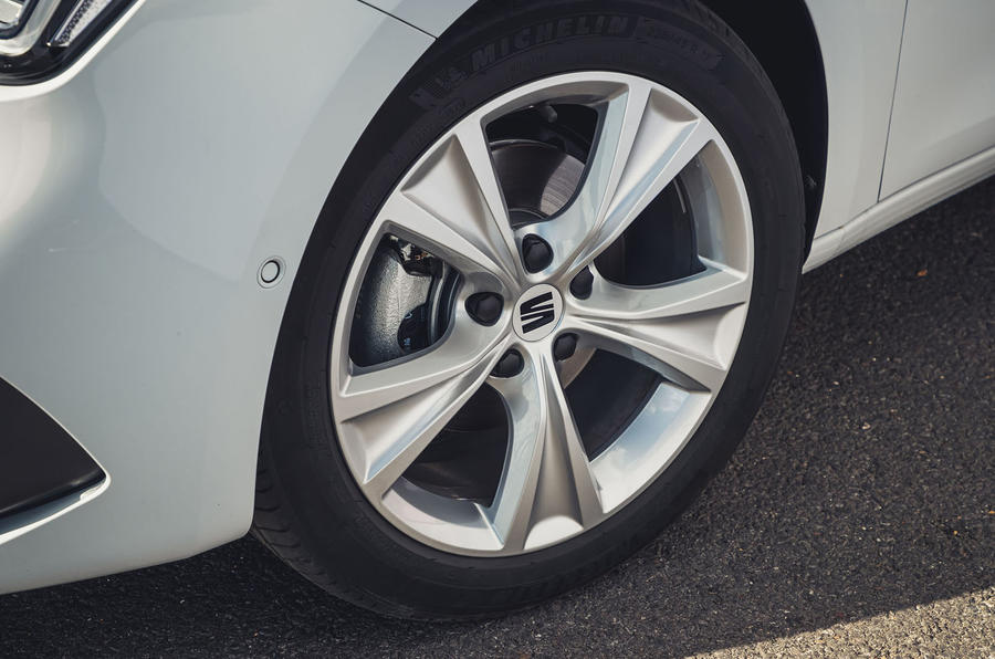 Seat Leon 2020 road test review - alloy wheels