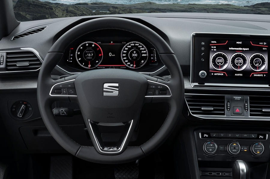 Seat Tarraco 2018 review - steering wheel