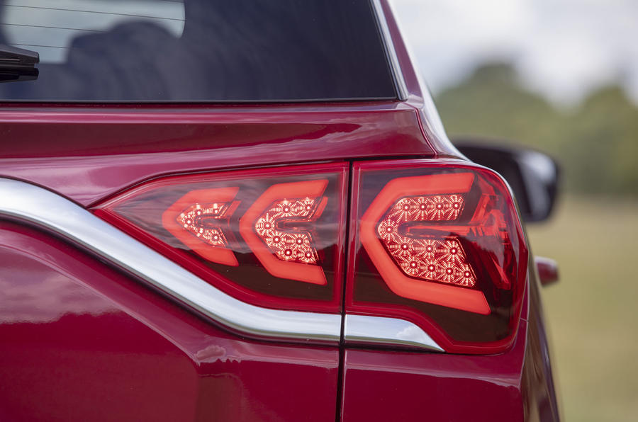 Ssangyong Korando 2019 road test review - rear lights