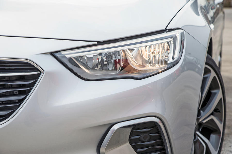 Vauxhall Insignia Sports Tourer GSI review headlights