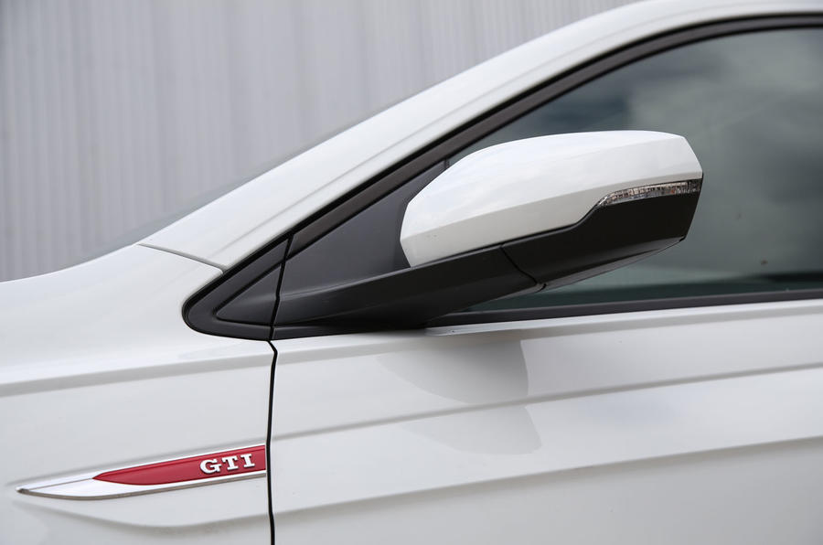 Volkswagen Polo GTI 2018 road test review wing mirrors