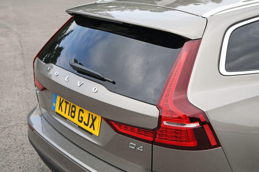 Volvo V60 2018 road test review rear end