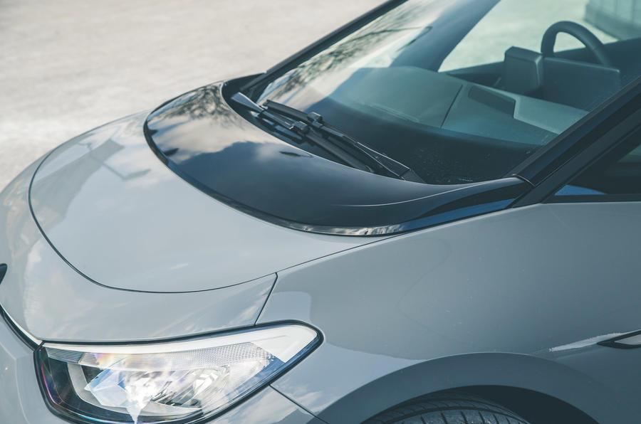 7 VW ID 3 2021 essai routier capot moteur