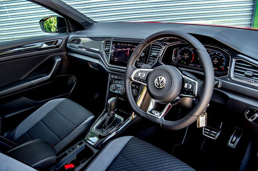 Volkswagen T-Roc 2019 road test review - steering wheel