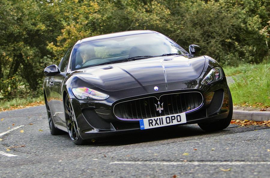 Maserati GranTurismo MC Stradale cornering
