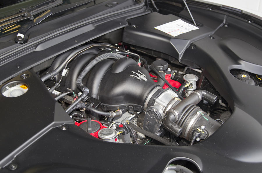 4.7-litre V8 Maserati GranTurismo engine