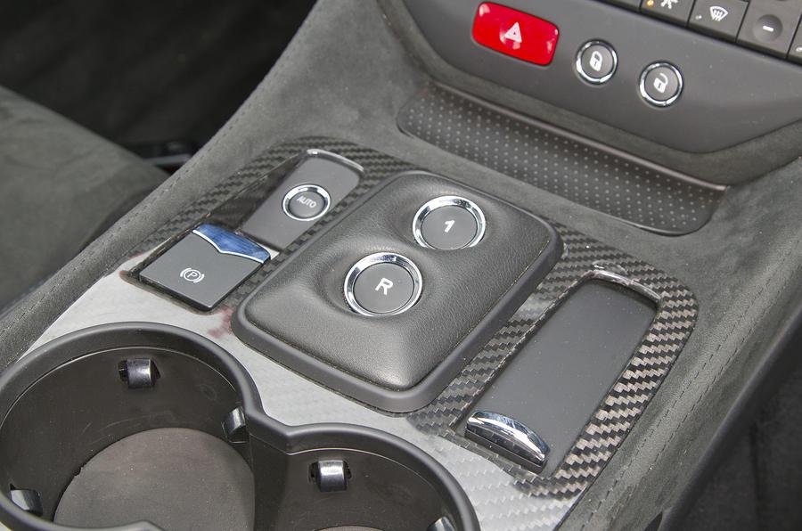 Maserati GranTurismo automatic gearbox