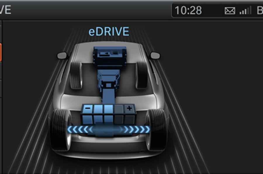 BMW 1 Series ActiveE electric powertrain