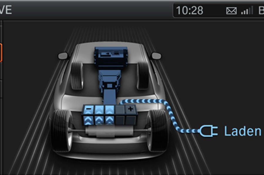 BMW 1 Series ActiveE hybrid powertrain