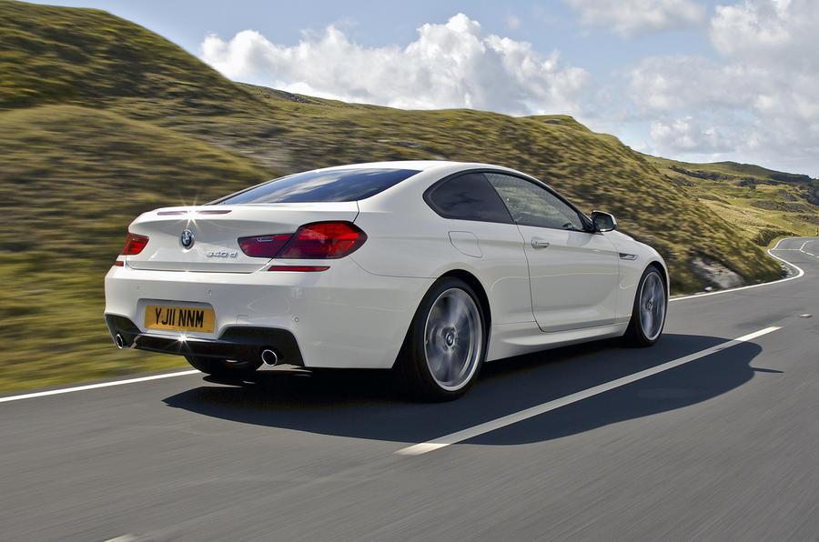 BMW 640d M Sport Coupé rear