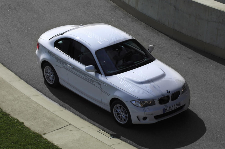 BMW 1 Series ActiveE top profile