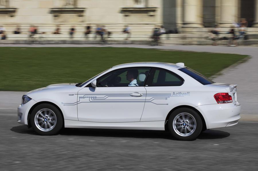 BMW 1 Series ActiveE side profile