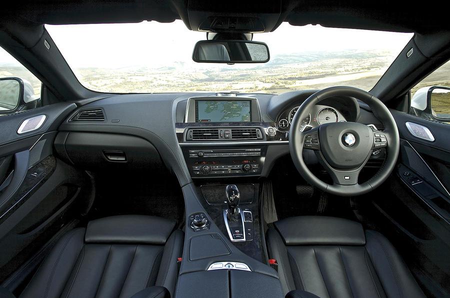 BMW 640d dashboard