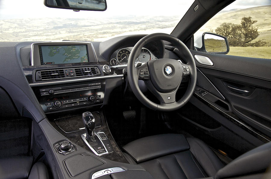 BMW 640d interior