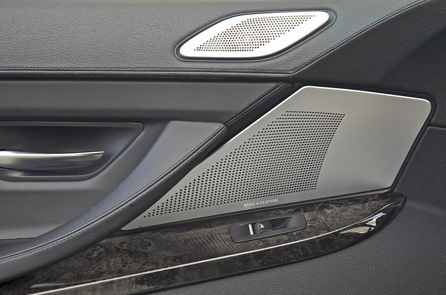 BMW 640d Bang & Olfsen speakers