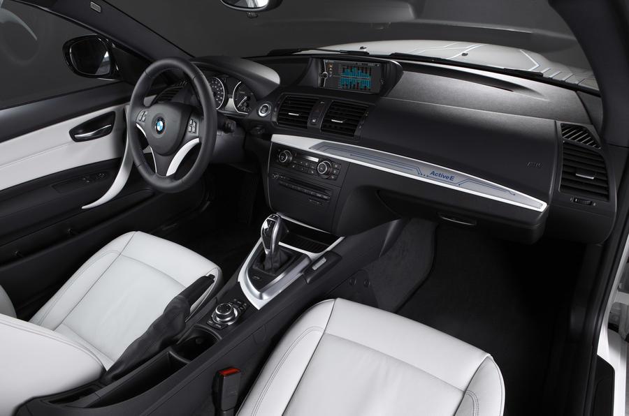 BMW 1 Series ActiveE dashboard