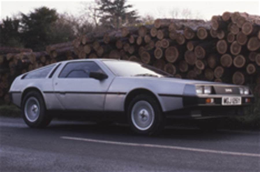 DeLorean set for return