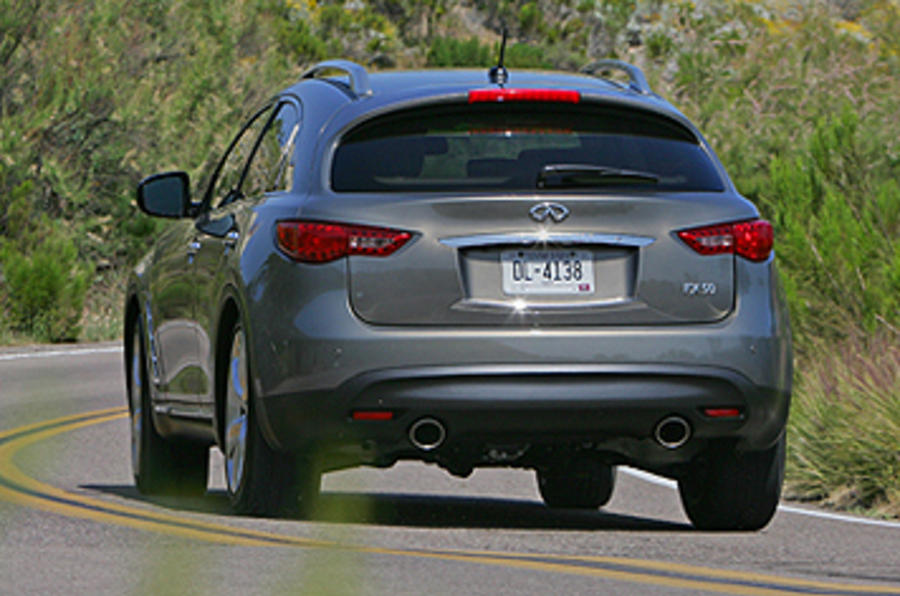 Infiniti FX50 S rear end