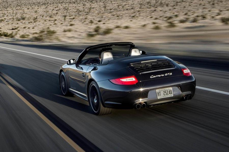 Porsche 911 GTS Cabriolet rear