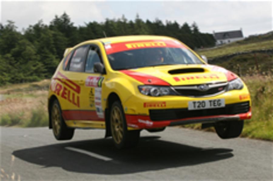 Subaru returns to rallying