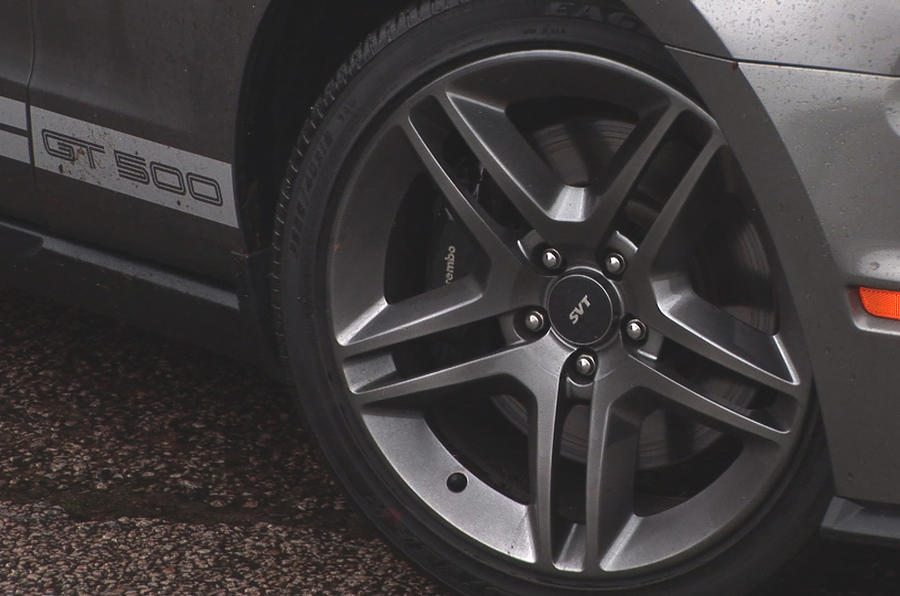 Ford Mustang Shelby GT500 alloy wheels
